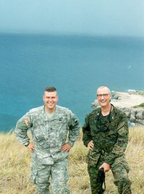 Paul Balassa and Turk McCleskey in Cuba